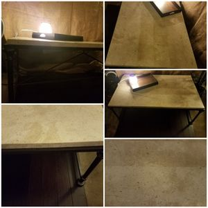 Table, higher end w/corner flaw that can be concealed fairly easy for Sale in Modesto, CA