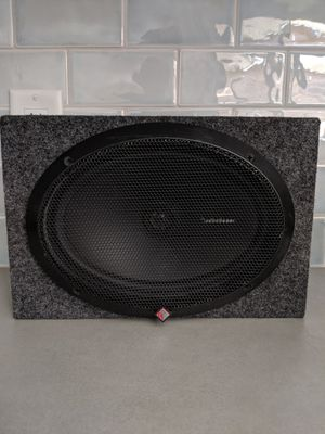 "Rockford Fosgate Car Speakers 6""x9"" w Speaker Box for Sale in Long Beach, CA"