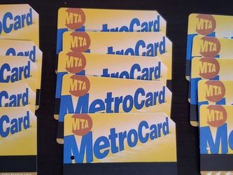 MetroCard - 15 cards $25 each 2 FREE - NYC Transit for Sale in New York,  NY