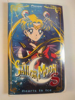 Vintage Sailor Moon VHS Hearts in Ice for Sale in El Paso, TX