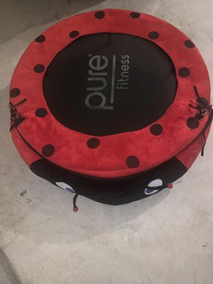 Pure Fitness single person trampoline for Sale in Upper Marlboro, MD