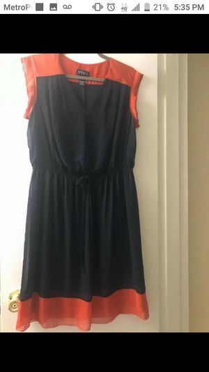 Orange and blue dress for Sale in Gaithersburg, MD