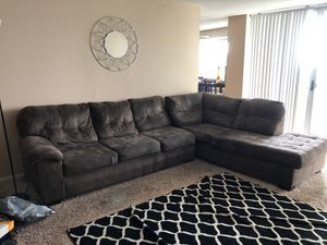 2 piece Sectional for Sale in Takoma Park, MD
