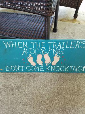 Campers sign for camper for Sale in Flushing, MI
