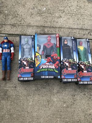 Marvel Avengers/Spider Man action figures for Sale in Maywood, IL