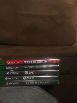 5 Xbox One Games (NO MORE READ DEAD) for Sale in Prineville,  OR