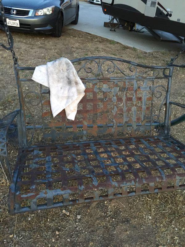 60's Vintage (refurbished) Bench/ Porch Swing