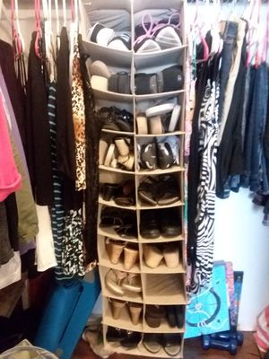 Shoe or accessory closet organizer for Sale in Tampa, FL