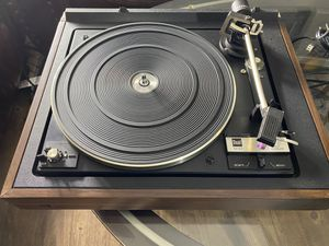 Dual 1237 Belt Drive Automatic Turntable with. Audio Technica Cartridge Near Mint Vintage Classic! for Sale in Winfield, IL