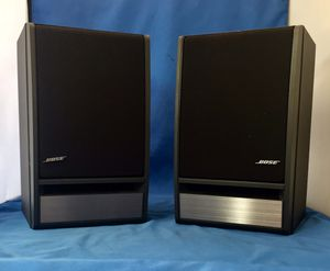 BOSE 141 Bookshelf Speakers Excellent Condition!!! Superior Sound Quality In A Surprisingly Small Design. 50W max continuous output, Pick Up Only for Sale in Oakbrook Terrace, IL