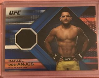 2019 Topps UFC Knockout Relics Blue /50 Rafael dos Anjos #KR-RD for Sale in Edwardsville,  IL