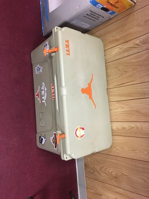 yeti cooler 75 longhorns for Sale in Austin, TX