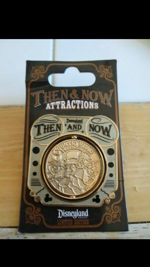 """Disneyland """"Then and Now"""" Spinner Pin for Sale in Modesto, CA"""