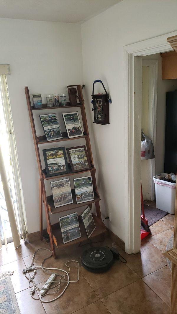 Ladder style book shelf