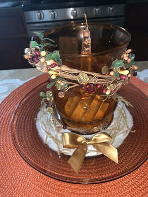 Hand Crafted Autumn/ Thanksgiving Centerpiece for Sale in Shorewood, IL