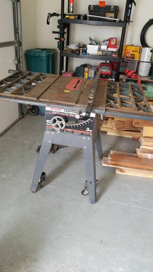 Stationary table saw for Sale in Charlottesville, VA