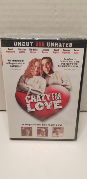 Crazy for love dvd for Sale in Piney Flats, TN