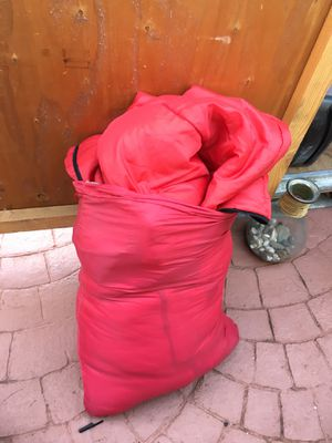 Camping 2 red sleeping bags for Sale in Davie, FL