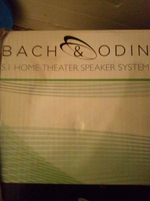 Home theater speaker system for Sale in NEW PRT RCHY, FL