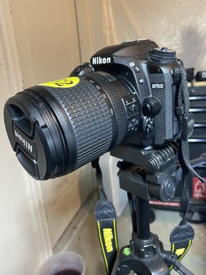 Nikon D7500 20.9MP DX-Format CMOS Digital SLR With 18-140mm Lens for Sale in Plano, TX