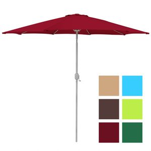 Aluminum Patio Umbrella Tilt W/ Crank Outdoor - (Multiple Colors Available) for Sale in Henderson, NV