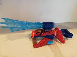 Nerf Iron spider man blaster dart gun. for Sale in Etiwanda, CA