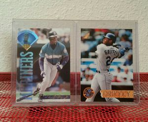 2-Ken Griffey jr. 94/95 Baseball card's for display for Sale in Vancouver, WA