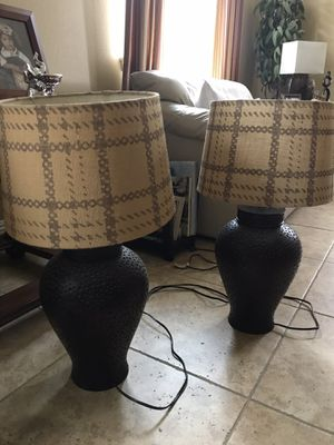 Home Lamps + Lampshade for Sale in Romoland, CA
