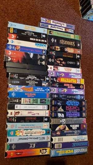 Classic VHS collection for Sale in Garden Grove, CA