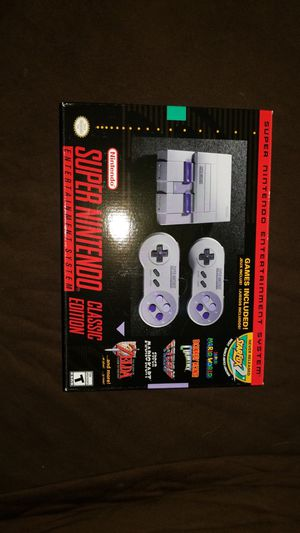 Super Nes mini classic edition for Sale in Cleveland, OH