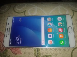 Like New Samsung Galaxy Note 5 Verizon/T-Mobile/MetroPCS/AT&T/Cricket Phone Unlocked Clear ESN White for Sale in Glendale, AZ
