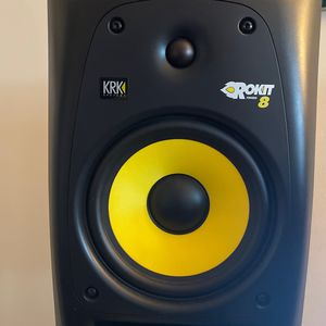 Pair Of Krk ROKIT 8's - Cables And Stands Included! for Sale in Brooklyn, NY