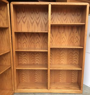 Oak Bookshelf / Bookcase / Storage Display Shelves for Sale in Lakeville, MN