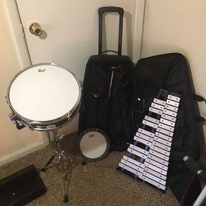 Pearl Snare Drum/Xylophone Starter Set $185 for Sale in Roswell, GA