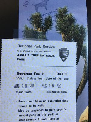 Joshua tree pass for Sale in Los Angeles, CA