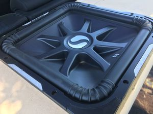 """15"""" sub (L7) in custom ported box for Sale in Bakersfield, CA"""