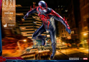 Brand New Sealed Hot Toys Spider Man 2099 Black Suit VGM42 In Hand for Sale in Glendale, CA