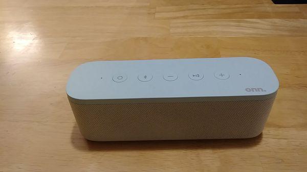 Onn wireless Bluetooth speaker