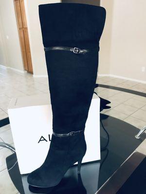 Aldo Arely Knee High Velvet Women's Boots Size 9 Black for Sale in Avondale, AZ
