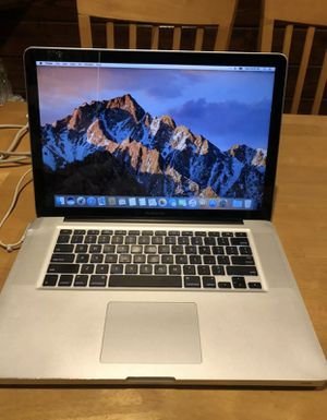 I don't accept Paypal or Cash App, Read first only offer up payment accepted or cash Apple laptops MacBook Pro 2010 15inch, Core i5 8gb 500gb hdd for Sale in Billings, MT