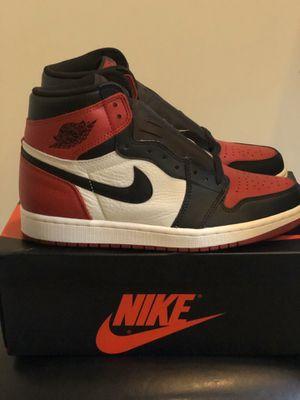 Jordan 1 Retro High Bred Toe for Sale in Fairburn, GA