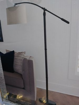 Brand new floor lamp. Dark bronze finish for Sale in Fort Myers, FL