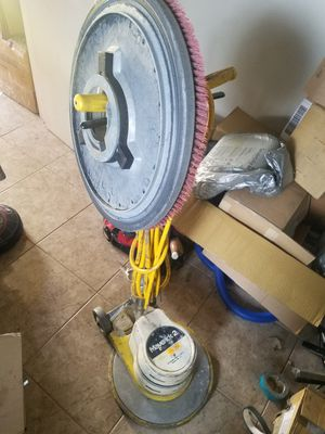 Carpet cleaning floor brush 17 scrubber for Sale in Phoenix, AZ