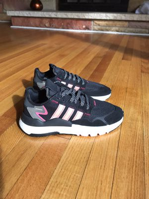 Adidas Nite Jogger Boost EG9231 Women's Size 9 Black/Pink New without box for Sale in Buckhannon, WV