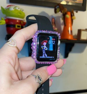 Rhinestoned Apple Watch Bumper 38mm (watch not included) for Sale in Fresno, CA