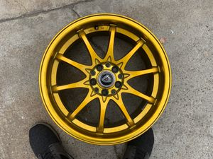 G Line Gold Rims 17s for Sale in East Los Angeles, CA