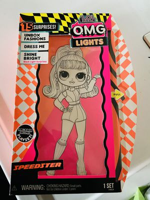 Lol surprise omg lights speedster doll for Sale in Moreno Valley, CA