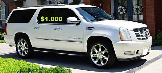 💚2OO8 Cadillac Escalade/UP FOR SALE * ZERO ISSUES > RUNS AND DRIVES LIKE NEW $1000🌸 for Sale in Arlington,  VA