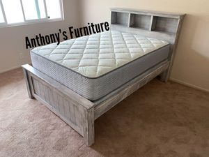 Full bed & bamboo set for Sale in Los Angeles, CA