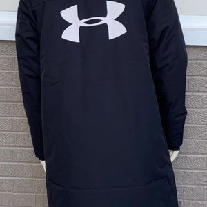 Under Armour Men's Insulated Waterproof Long Coat Jacket Size M for Sale in Elk Grove Village, IL